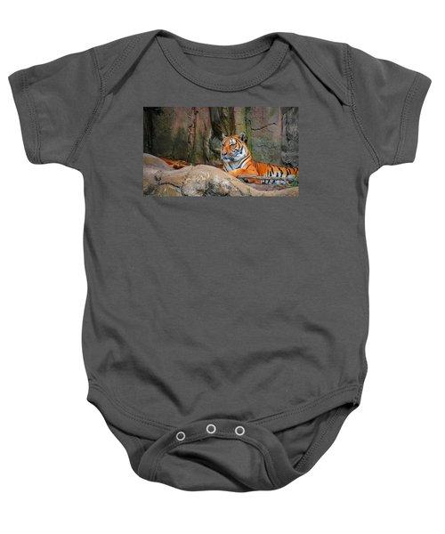 Fort Worth Zoo Tiger Baby Onesie