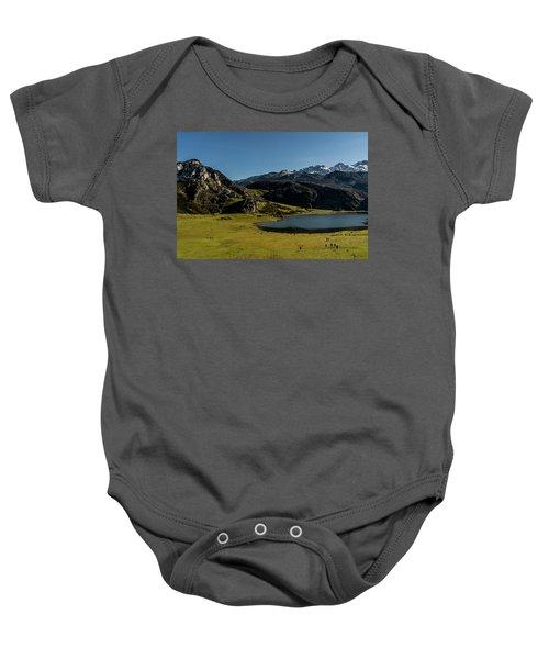 Glacier Formed Baby Onesie