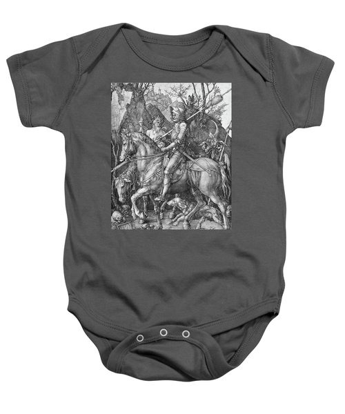 Knight Death And The Devil Baby Onesie