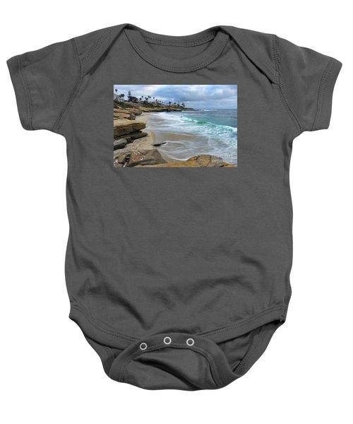 La Jolla Shores Baby Onesie