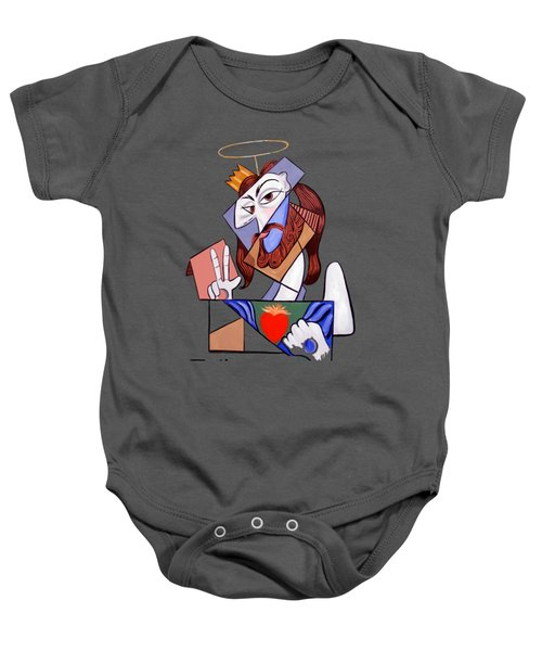 Peace Be With You Baby Onesie by Anthony Falbo