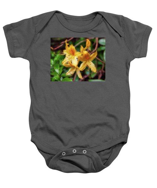 Rhododendron Baby Onesie