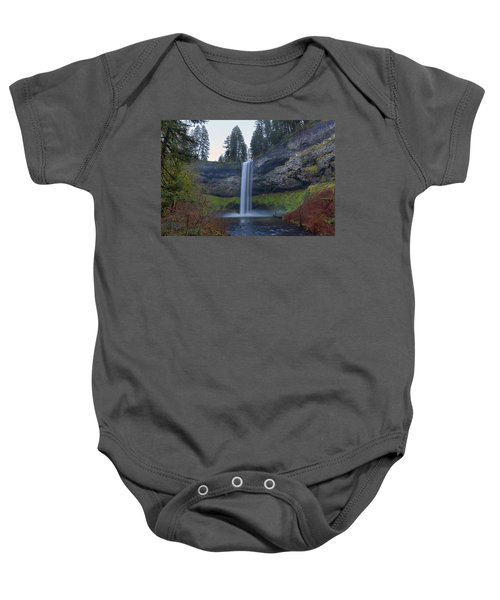 South Falls At Silver Falls State Park Baby Onesie