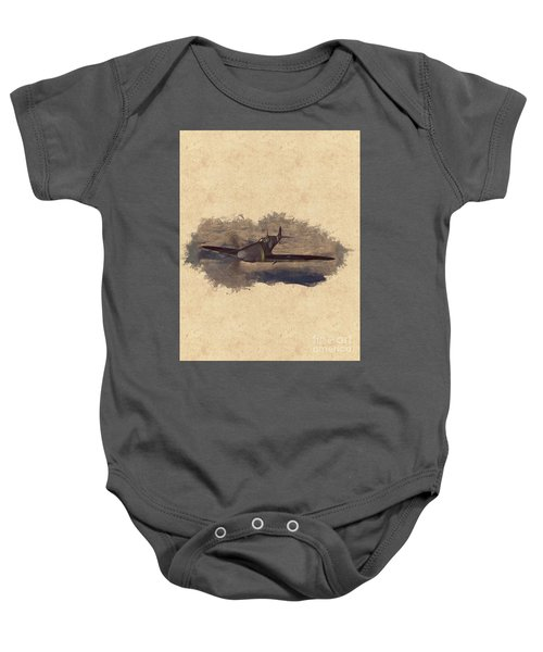 Spitfire - Wwii Fighter Baby Onesie