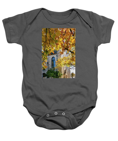 Stone Chapel Fall Baby Onesie