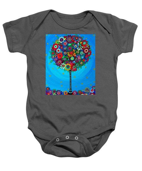 Tree Of Life Baby Onesie