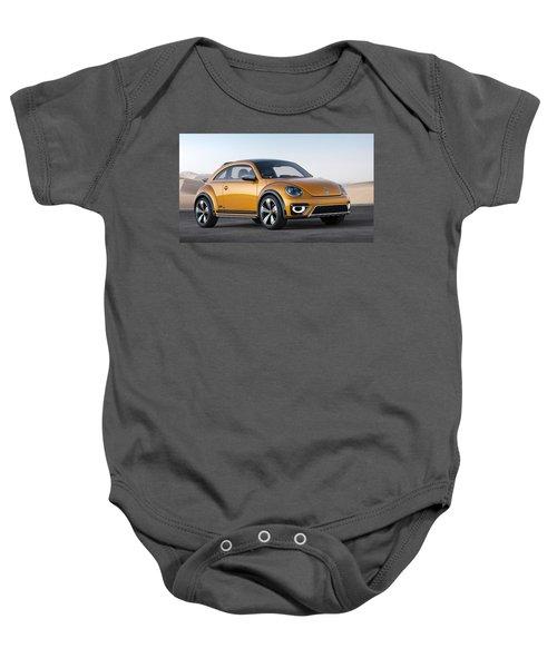 2014 Volkswagen Beetle Dune Concept Baby Onesie