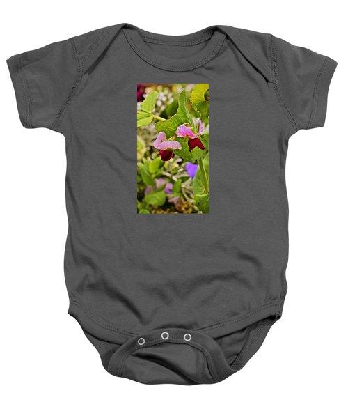 2015 Summer's Eve At The Garden Sweet Pea 2 Baby Onesie