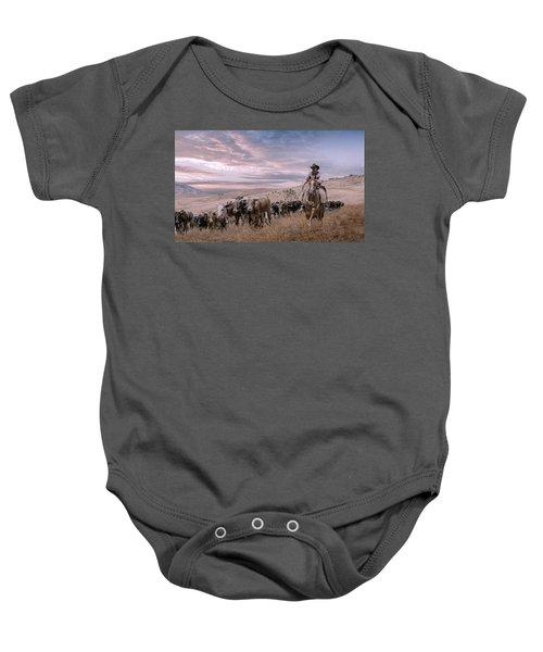 2016 Reno Cattle Drive Baby Onesie