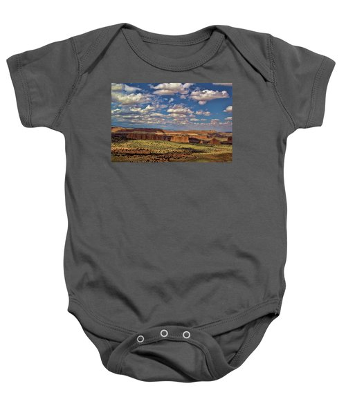 Capitol Reef National Park Catherdal Valley Baby Onesie