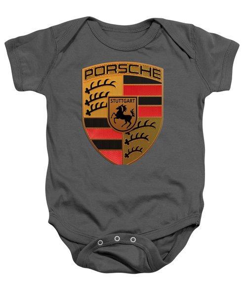 Porsche Label Baby Onesie