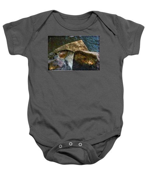 Stone Sharkhead Baby Onesie