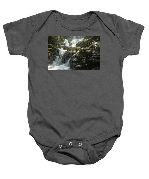 Waterfall Scenery Baby Onesie