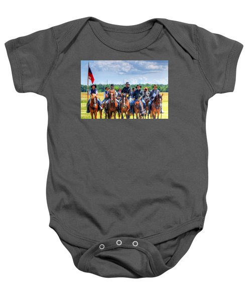 2nd Us Cavalry  Baby Onesie