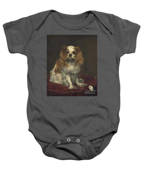 A King Charles Spaniel Baby Onesie