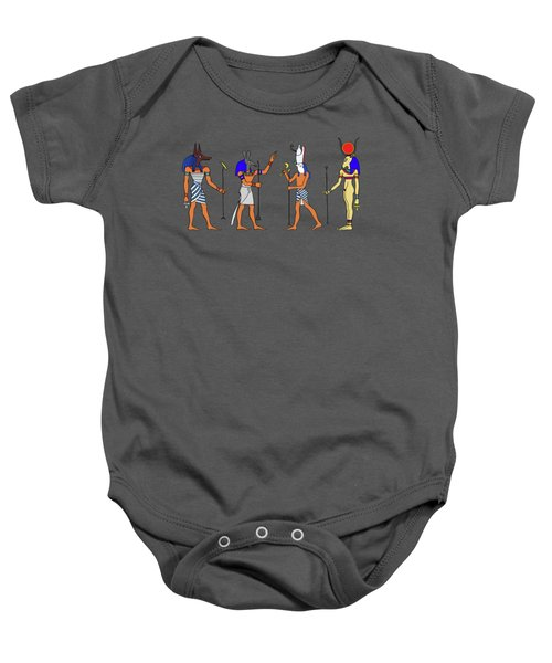 Egyptian Gods And Goddess Baby Onesie
