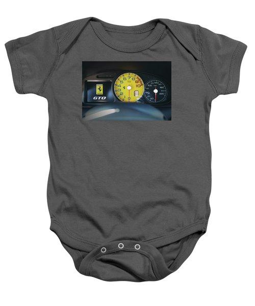 #ferrari #599gto #print Baby Onesie