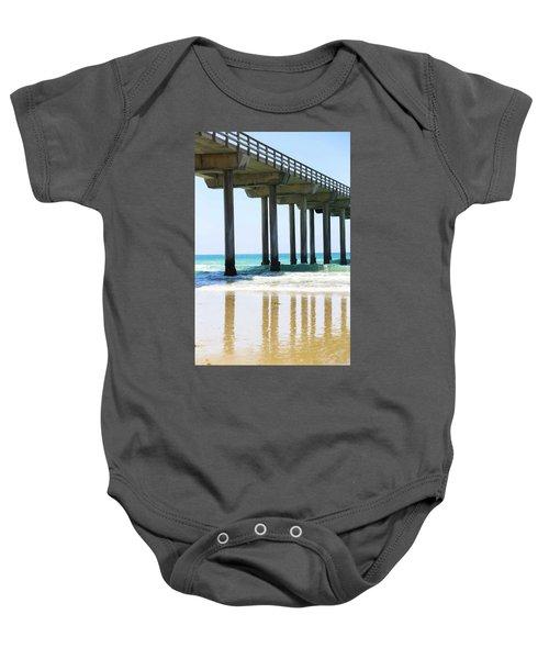 Into The Ocean Baby Onesie
