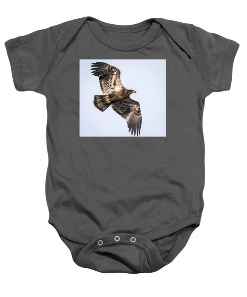 Juvenile Bald Eagle  Baby Onesie