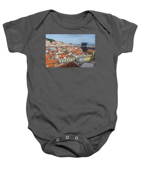 Lisbon View Baby Onesie