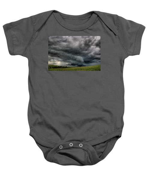 North Dakota Thunderstorm Baby Onesie