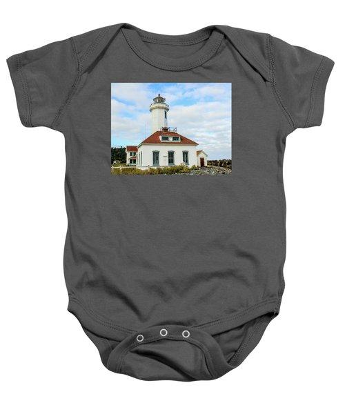 Point Wilson Lighthouse Baby Onesie