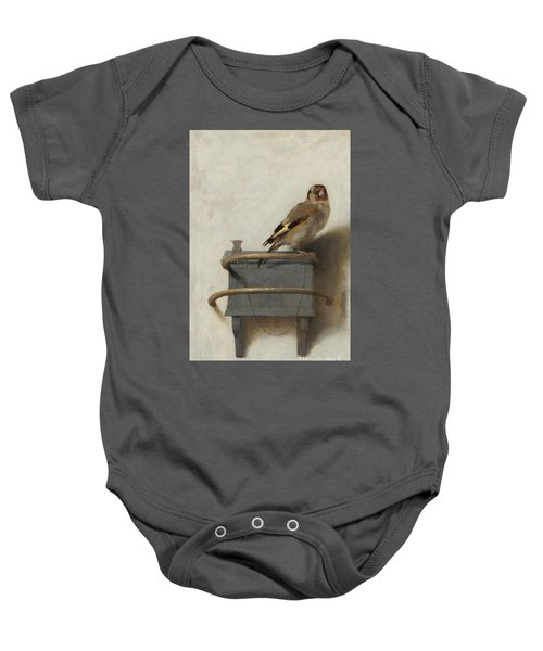 The Goldfinch Baby Onesie by Carel Fabritius