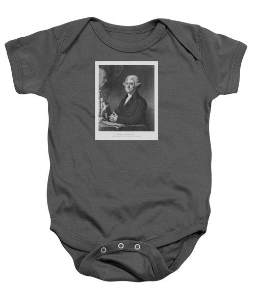 Thomas Jefferson Baby Onesie
