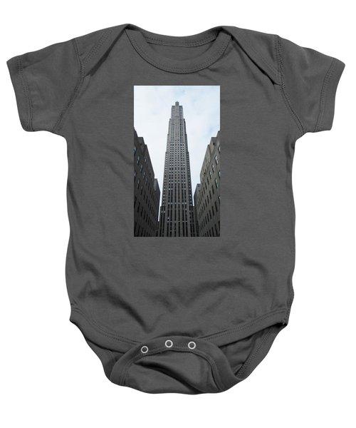 30 Rockefeller Center Baby Onesie