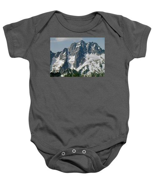 304630 North Face Mt. Stuart Baby Onesie