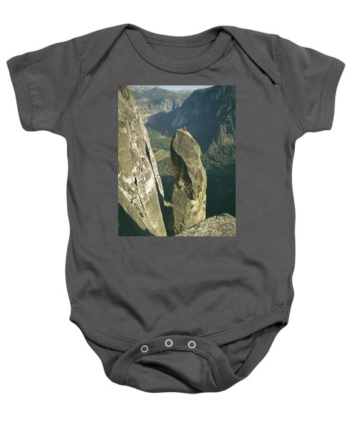 306540 Climbers On Lost Arrow 1967 Baby Onesie