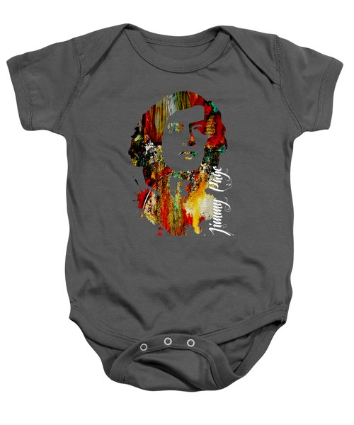 Jimmy Page Collection Baby Onesie