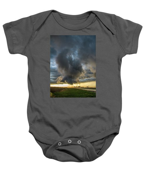 3rd Storm Chase Of 2018 050 Baby Onesie