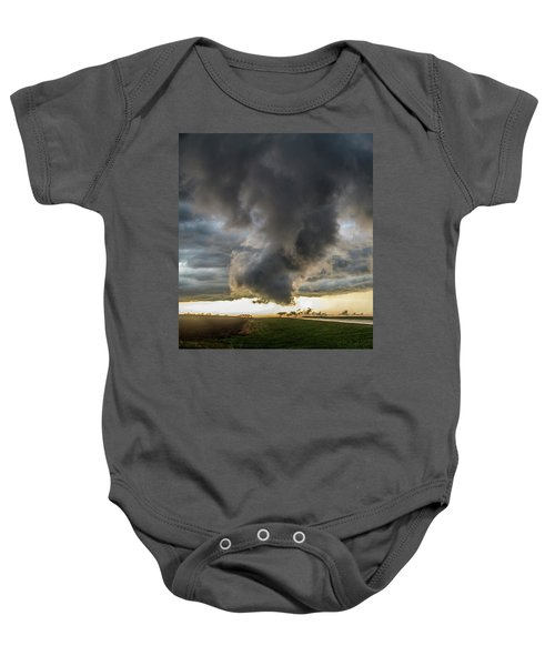 3rd Storm Chase Of 2018 051 Baby Onesie
