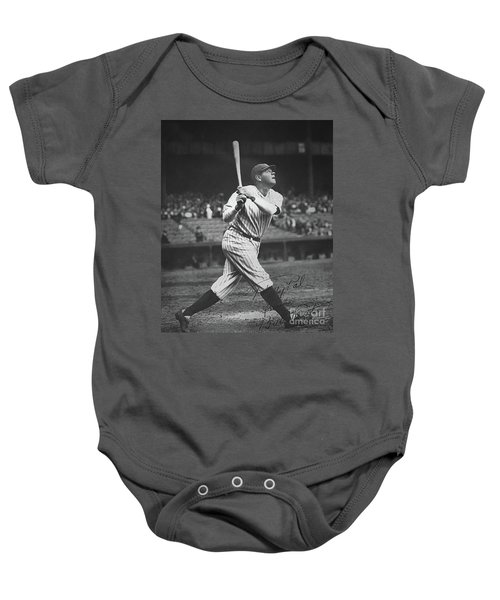 Babe Ruth  Baby Onesie by American School