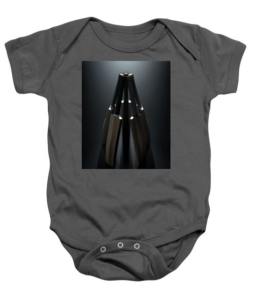 Cricket Back Circle Dramatic Baby Onesie