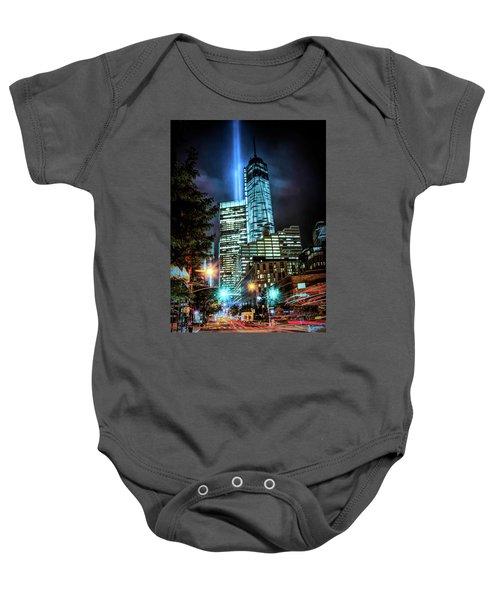 Freedom Tower Baby Onesie