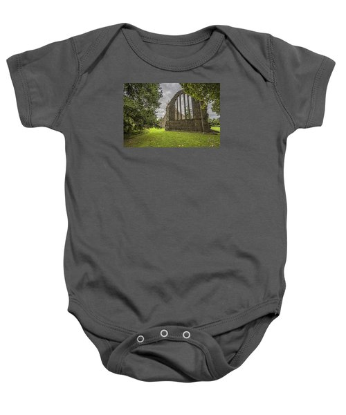 Inchmahome Priory Baby Onesie by Jeremy Lavender Photography