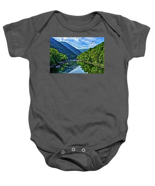 New River Gorge National River Baby Onesie