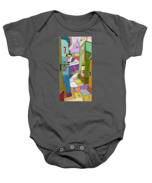 Prague Old Street Baby Onesie