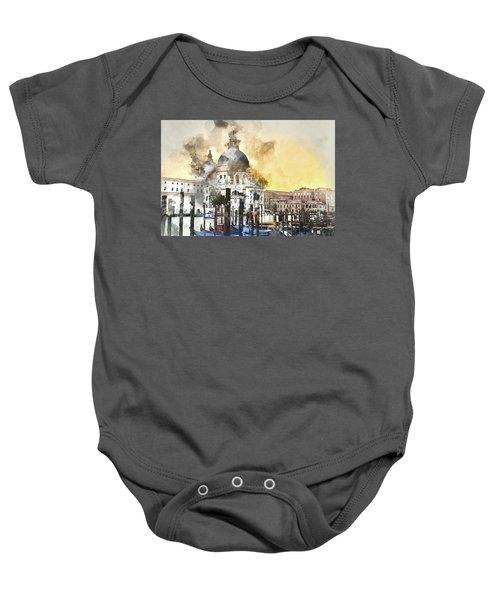 Venice Italy Baby Onesie