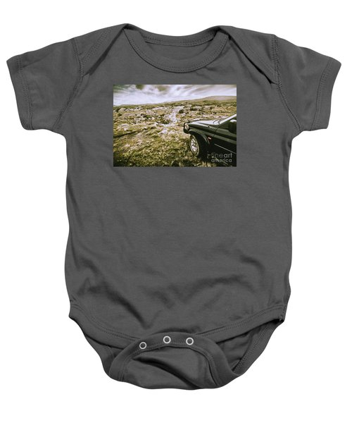 4wd On Offroad Track Baby Onesie