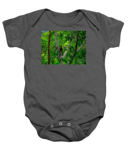 Chestnut-mandibled Toucan Baby Onesie