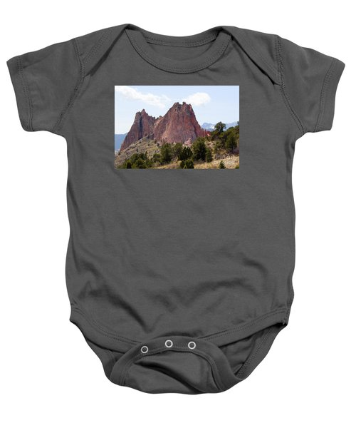 Dakota Trail At Garden Of The Gods Baby Onesie