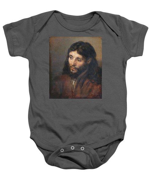 Head Of Christ Baby Onesie