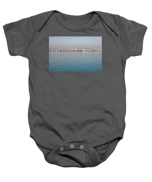 Shoreline Reflections Baby Onesie