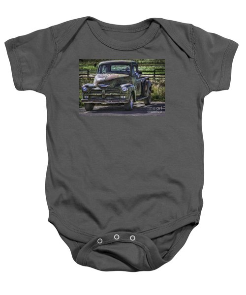 54 Chevy 3600 Stepside Baby Onesie