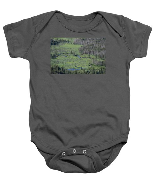 Scenery Rocky Mountain Np Co Baby Onesie