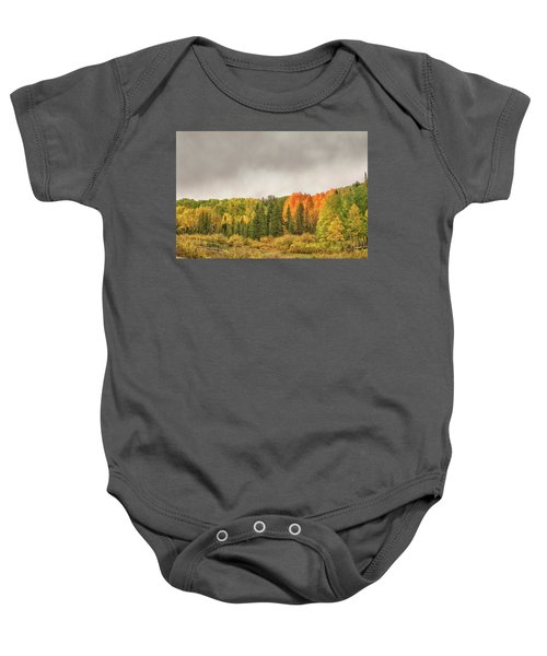 Colorado Fall Foliage 1 Baby Onesie