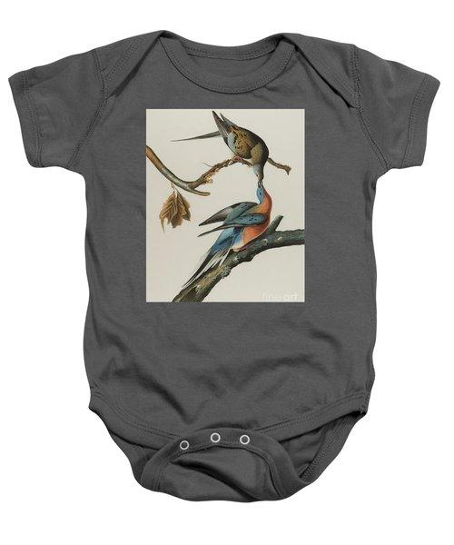Passenger Pigeon Baby Onesie